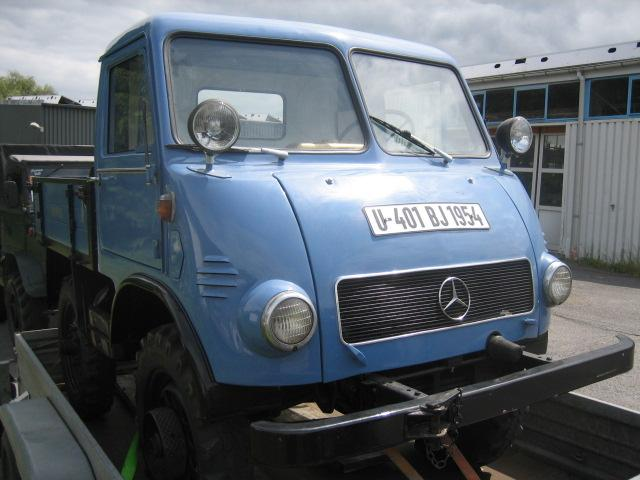 Unimog 401 Westfalia 1955 - RENOVATION U401310