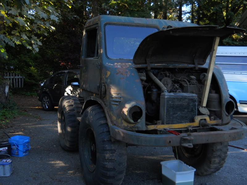 Unimog 401 Westfalia 1955 - RENOVATION U401410