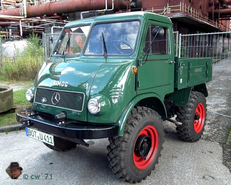 Unimog 401 Westfalia 1955 - RENOVATION U401510