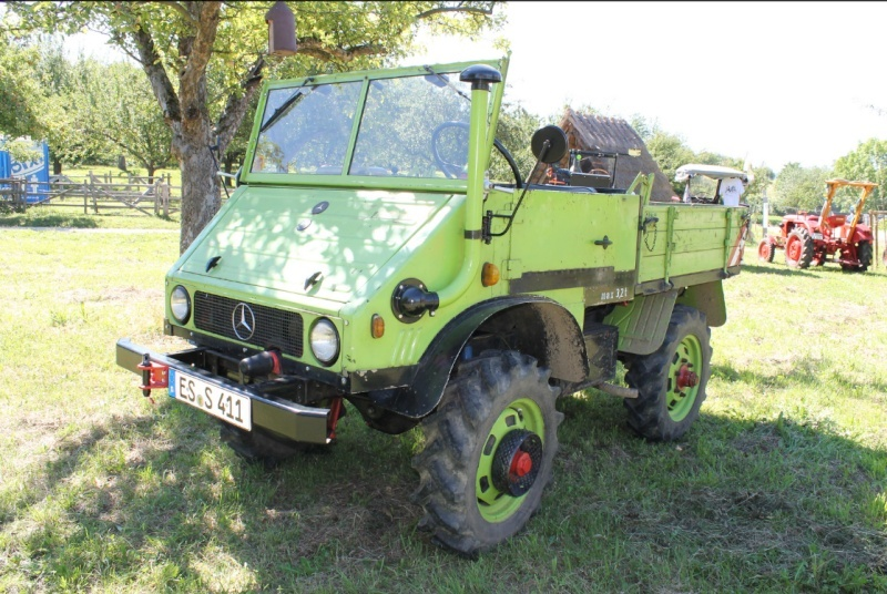 unimog 411 couleur mb-trac ? - Page 2 Vert510