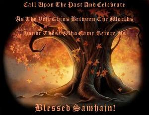 Les quatre fêtes religieuses celtiques Samain11
