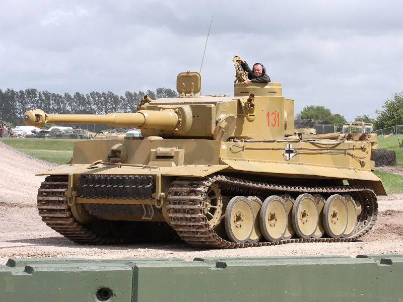 Tiger Tank 131 Ride  10015010