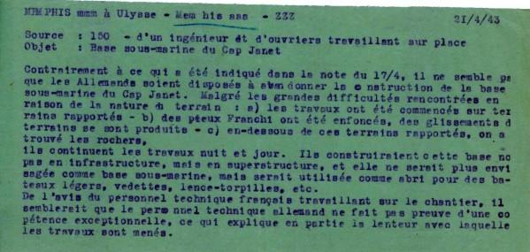 "Base U-Boote ""Martha"", cap Janet (Marseille, 13) - Page 4 49-bas10"