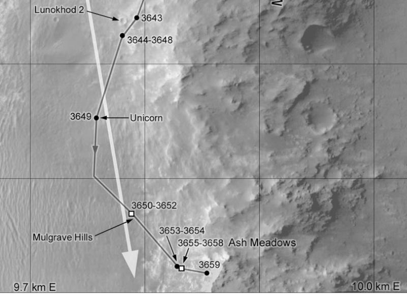 Opportunity et l'exploration du cratère Endeavour - Page 7 Locati10