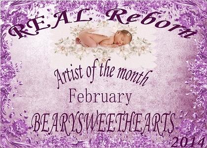 February artist of the month winner logo =) 10293710