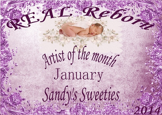 January artist of the month winner logo 23752711