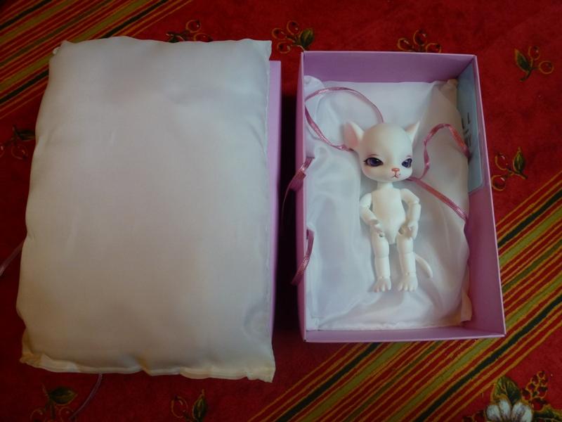 Au chat... et à la souris... Millie a reçu ses cadeaux de Noël... page 2. P1070419