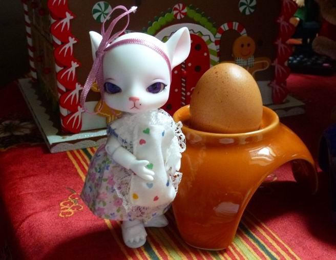 Au chat... et à la souris... Millie a reçu ses cadeaux de Noël... page 2. P1070432