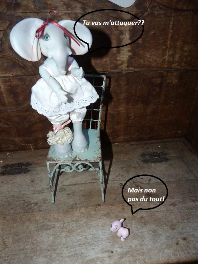 Violette, ma jolie petite Elephante de chez Jesliedolls - Page 2 Photo243