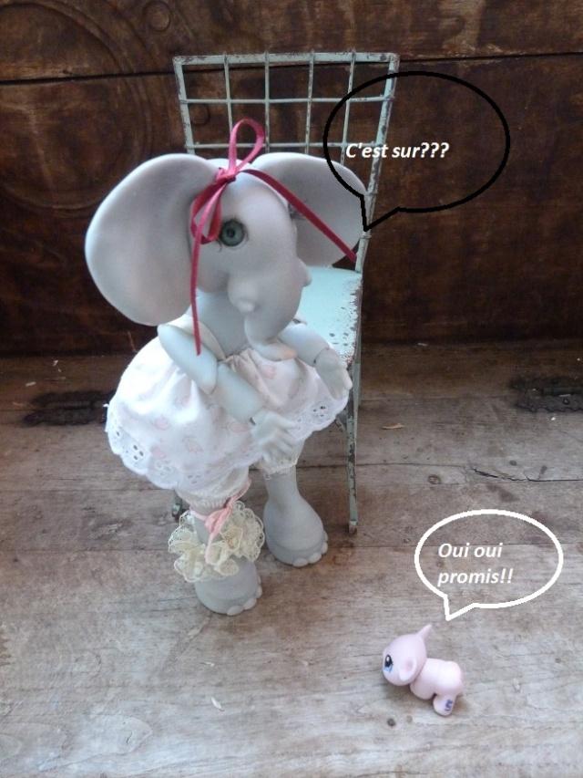 Violette, ma jolie petite Elephante de chez Jesliedolls - Page 2 Photo244
