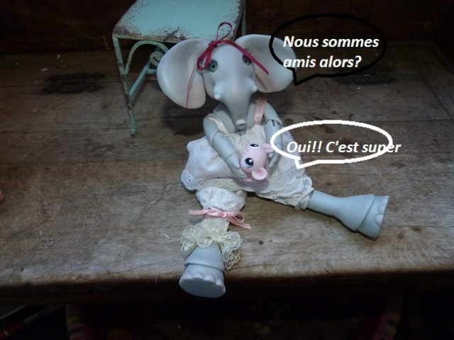Violette, ma jolie petite Elephante de chez Jesliedolls - Page 2 Photo245