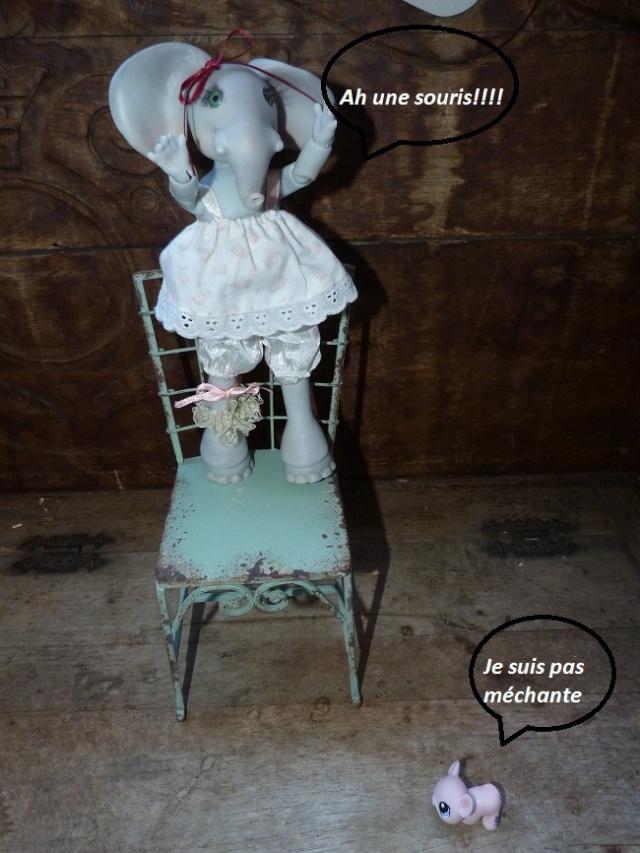 Violette, ma jolie petite Elephante de chez Jesliedolls - Page 2 Photo248