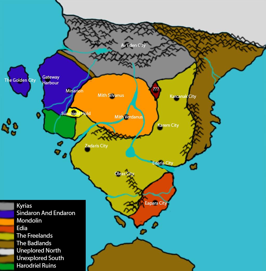 Geography Of Asmir Ka'lesa Region10