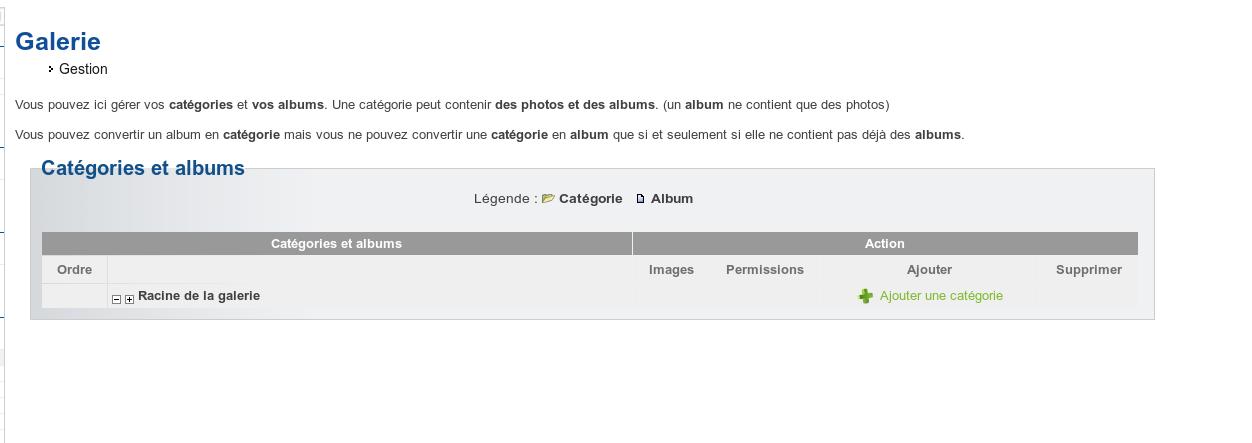 [Administration] Gestion des albums photos : déplacement plus rapide, ... Captu245