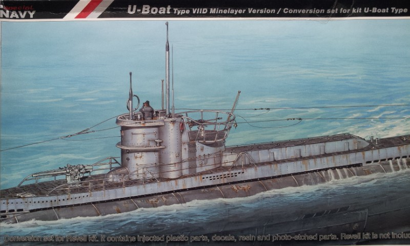 [Revell] U-Boot Type VII D - Conversion Special Navy FINI 2013-017
