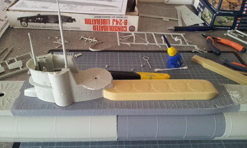 [Revell] U-Boot Type VII D - Conversion Special Navy FINI 2013-025