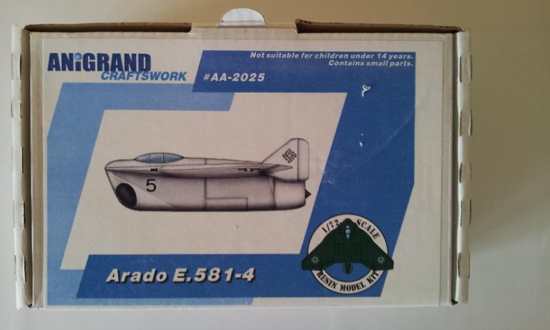 [Anigrand] Arado E.581-4 2013-037