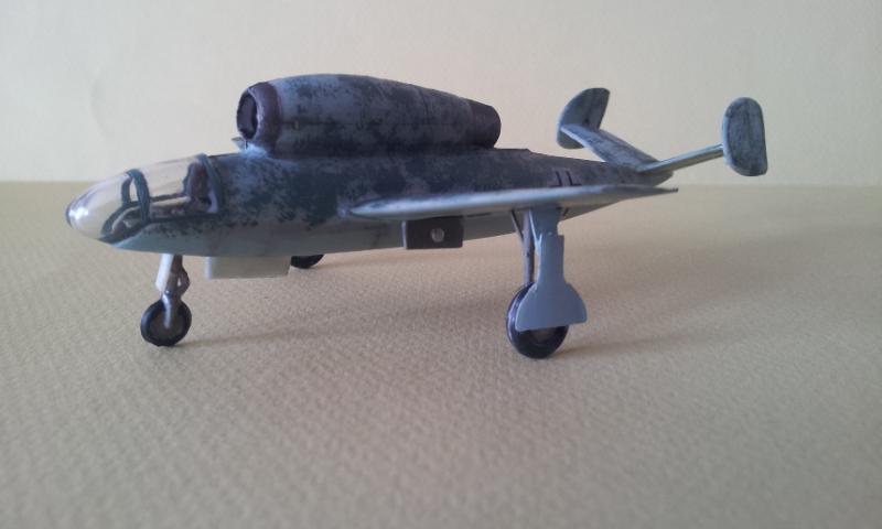 [Huma Modell] Henschel Hs 132 2013-061