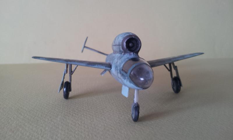 [Huma Modell] Henschel Hs 132 2013-062