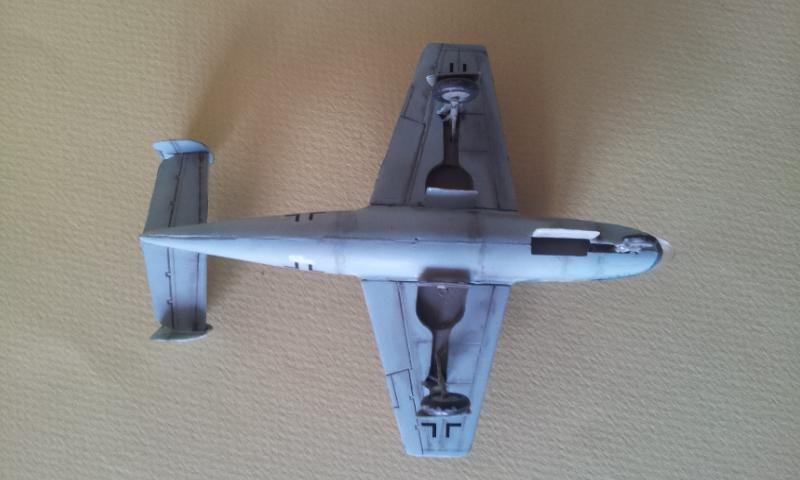 [Huma Modell] Henschel Hs 132 2013-064