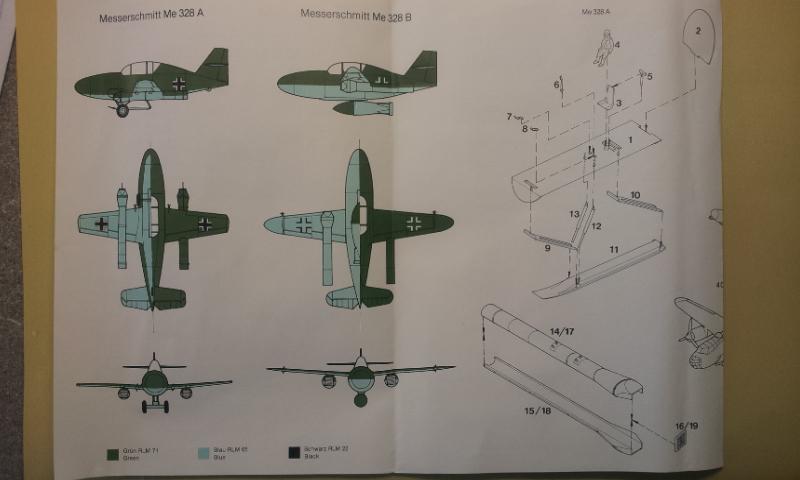[Huma Modell] Messerschmitt Me328a + Me328b 2013-073