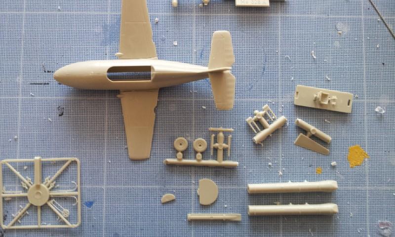 [Huma Modell] Messerschmitt Me328a + Me328b 2013-076