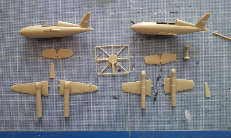 [Huma Modell] Messerschmitt Me328a + Me328b 2013-077