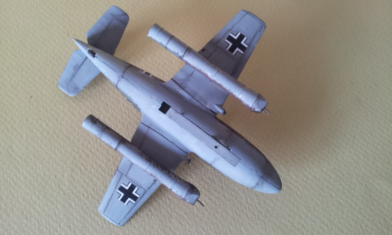 [Huma Modell] Messerschmitt Me328a + Me328b 2013-084