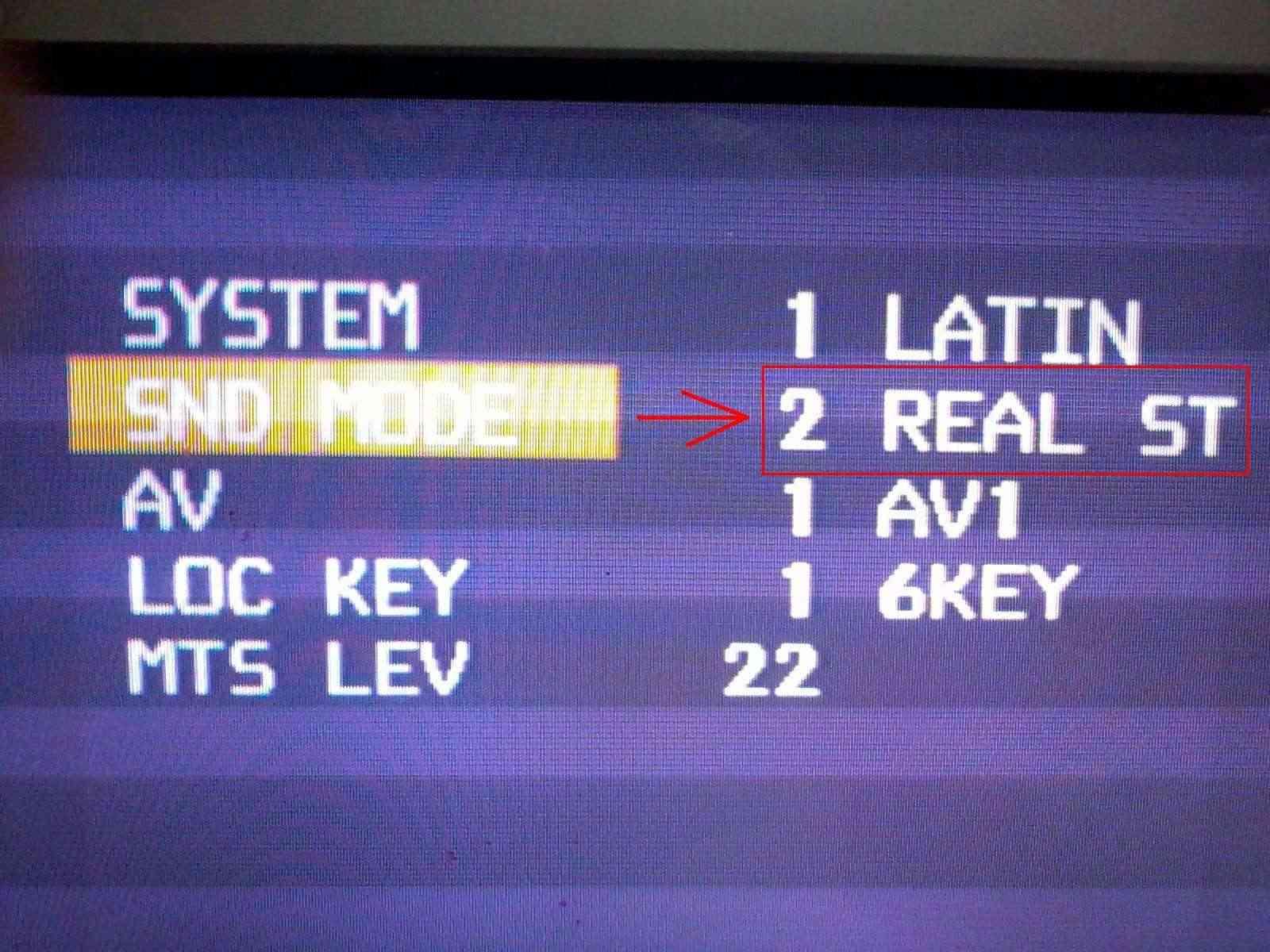 Televisor LG 21FX5RL-LD sem som ou completamente sem áudio. Menu_s10