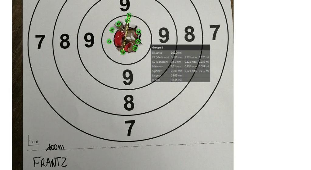 Challenge 100 mètres .22LR avec appuis - Page 3 Frantz10