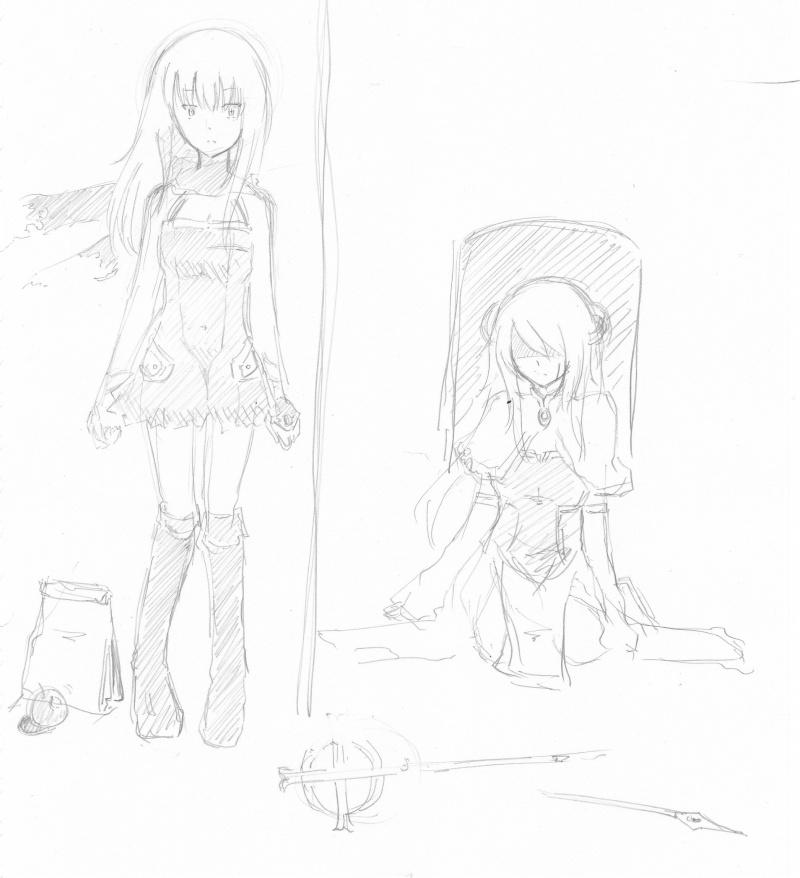 Cosmic Break Fanart [mostly by unknown artists] - Page 8 Eris_a10
