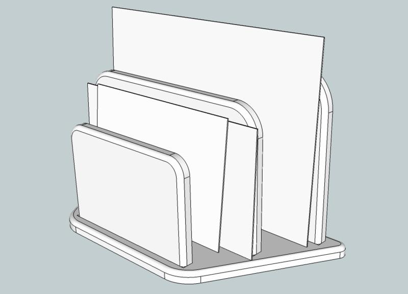 """[realisation] projet tout simple : un """"trieur de courrier"""" Trieur12"""