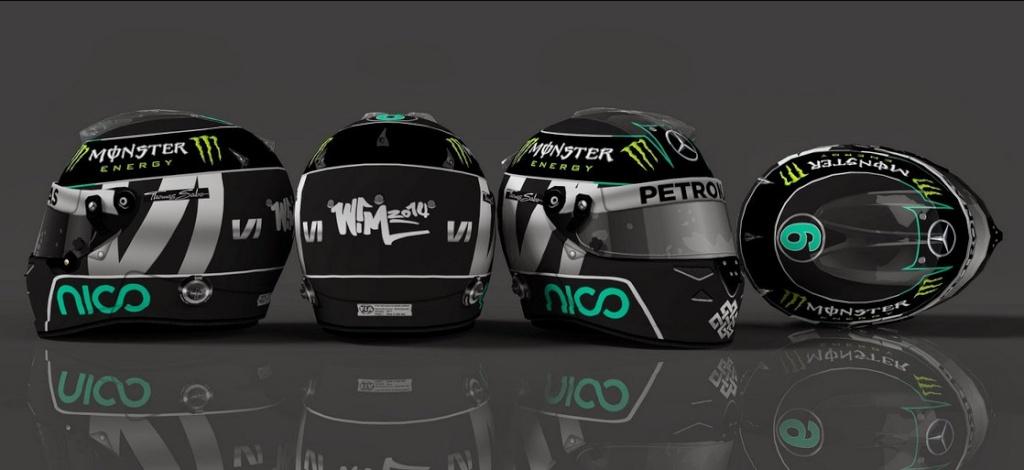 Cascos F1  2014  Para el F1 2013 Codemasters  Bandi117