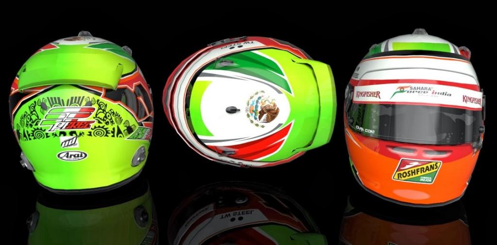 Cascos F1  2014  Para el F1 2013 Codemasters  Bandi118