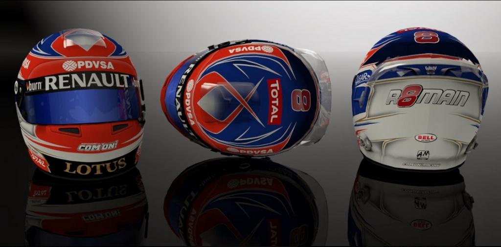 Cascos F1  2014  Para el F1 2013 Codemasters  Bandi119
