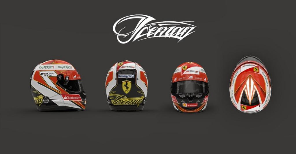 Cascos F1  2014  Para el F1 2013 Codemasters  Bandi120
