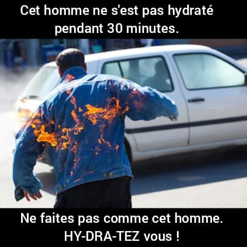 C'est horrible. Nous sommes en Juin 2019 et la France a chaud. Canicu10