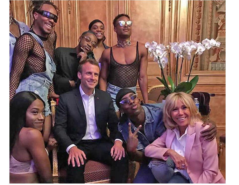 Après les pantalonnades de Normal 1 er, Macron devait relever la fonction présidentielle ! Captur12