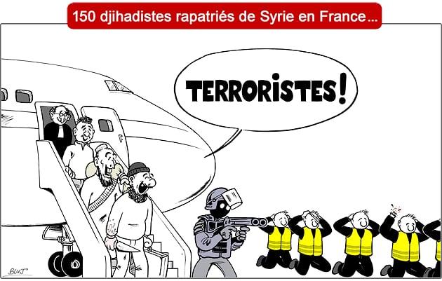 Que faire des djihadistes de retour en France? Gilets11