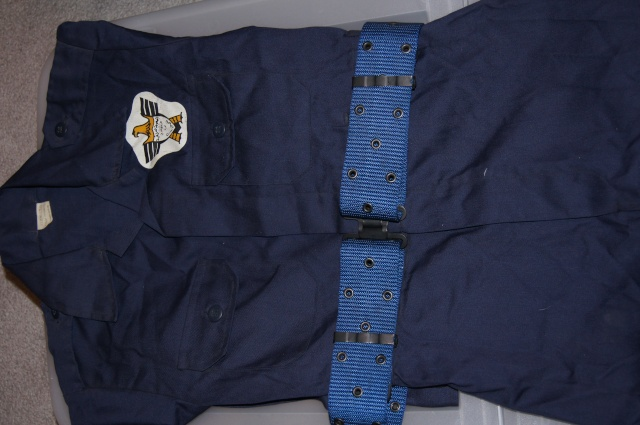 Pre-2003 Iraqi Civil Defense Corps Coverall & Hat Dsc01510