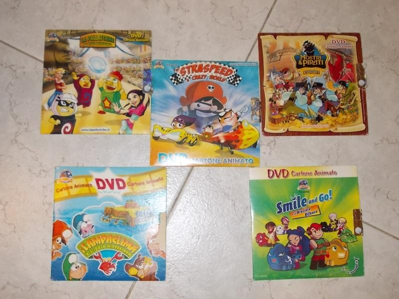 vendo 5 dvd raccolta kinder e ferrero 2007 produzione MAGNOLIA E KINDER 00111