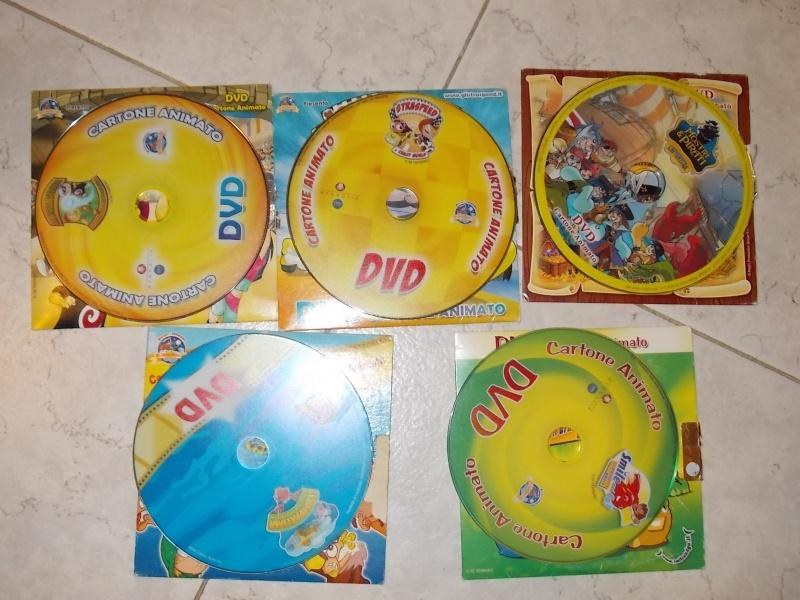 vendo 5 dvd raccolta kinder e ferrero 2007 produzione MAGNOLIA E KINDER 00210