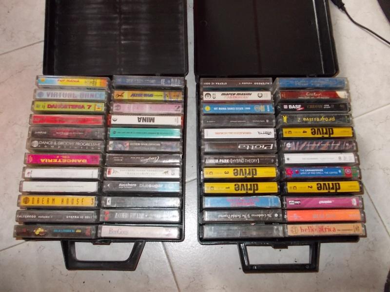 lotto cassette stereo 48 mc anni 90 integre funzionanti  00311