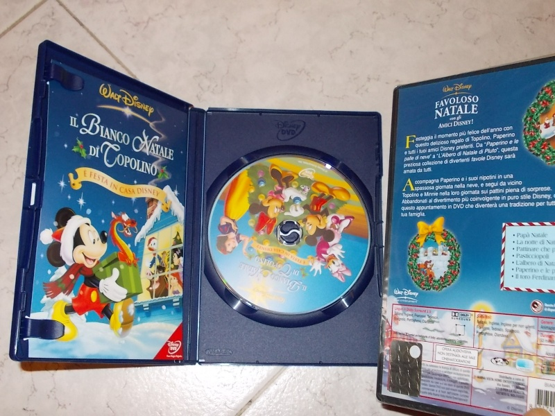 VENDO 2 DVD WALT DISNEY ANNO 2000 CIRCA NUOVI UNO è ANCORA IMBALLATO 00410