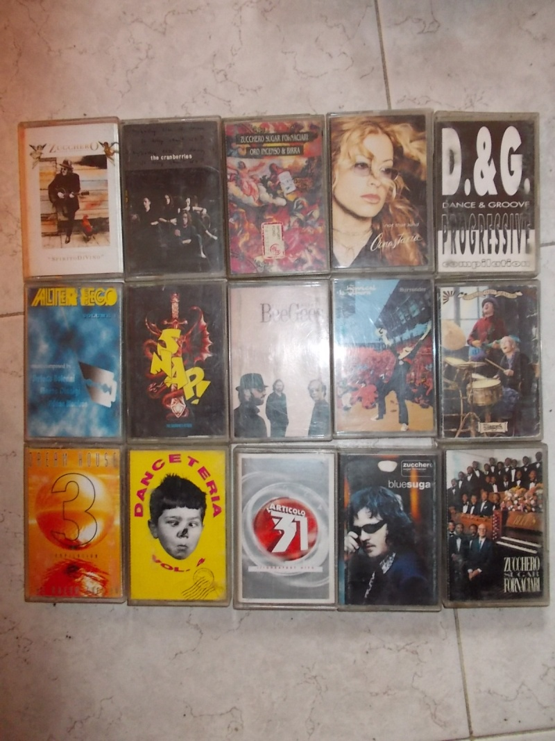 lotto cassette stereo 48 mc anni 90 integre funzionanti  00411