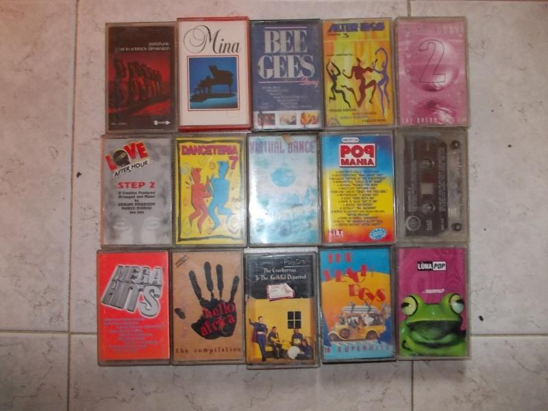 lotto cassette stereo 48 mc anni 90 integre funzionanti  00511