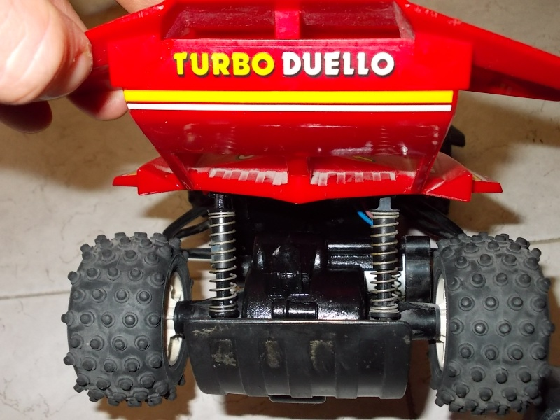 GIG NIKKO ANNI 80 CIRCA TURBO DUELLO PERFETTA INTEGRA FUNZIONANTE antenna rossa 00810