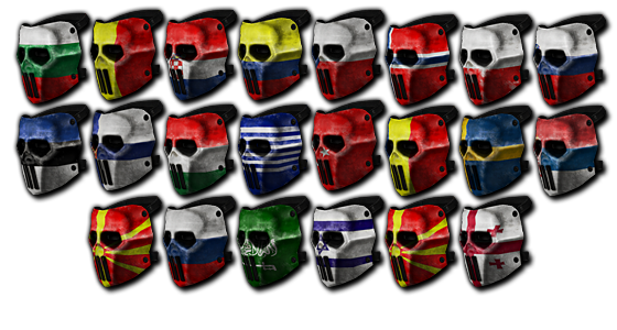 Choose your Patriot Mask & Cap! Skull_10