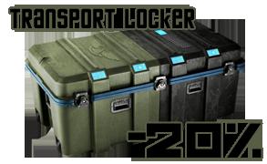 20% discount on Transport Locker Transp10