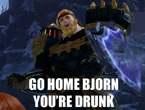 Dites Le Avec Un Personnage ! Drunk10